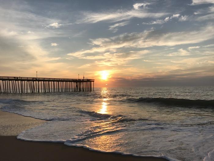 Sunrise at Ocean City Maryland Summer2017