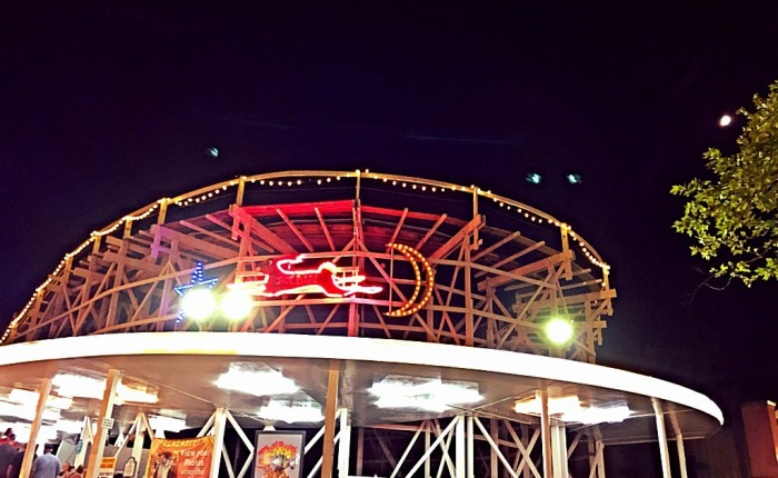 Kennywood Park at Night